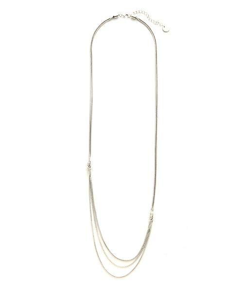 22 OCTOBRE / ヴァンドゥー・オクトーブル 服飾雑貨 | ケシスネークネックレス(シルバー)