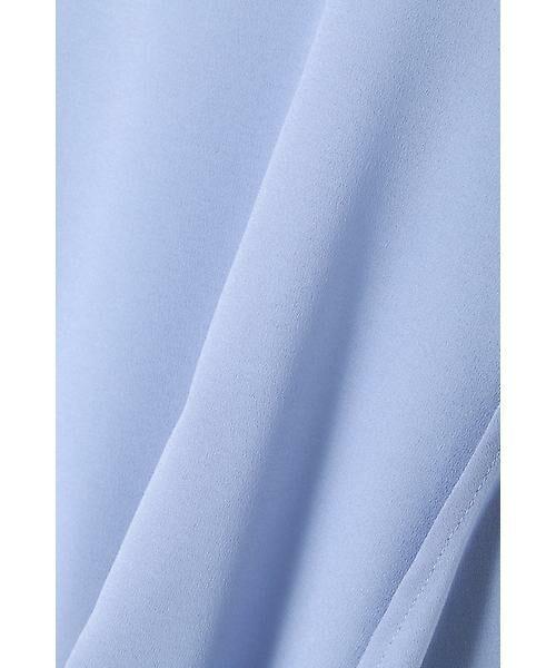 22 OCTOBRE / ヴァンドゥー・オクトーブル Tシャツ | [ウォッシャブル]サイドタックブラウソー | 詳細4