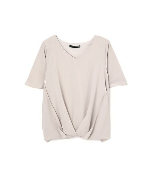 22 OCTOBRE / ヴァンドゥー・オクトーブル Tシャツ | [ウォッシャブル]サイドタックブラウソー | 詳細7