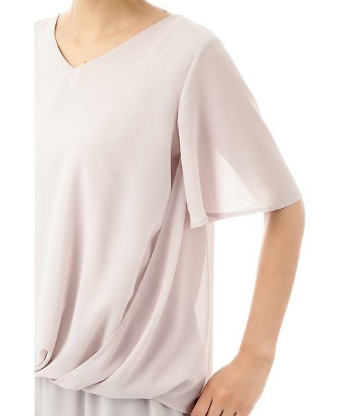 22 OCTOBRE / ヴァンドゥー・オクトーブル Tシャツ | [ウォッシャブル]サイドタックブラウソー | 詳細10