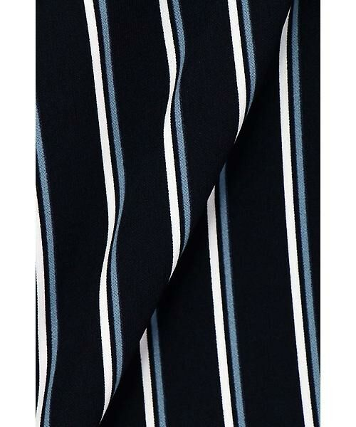 22 OCTOBRE / ヴァンドゥー・オクトーブル スカート | [洗える]マルチストライププリントスカート | 詳細7