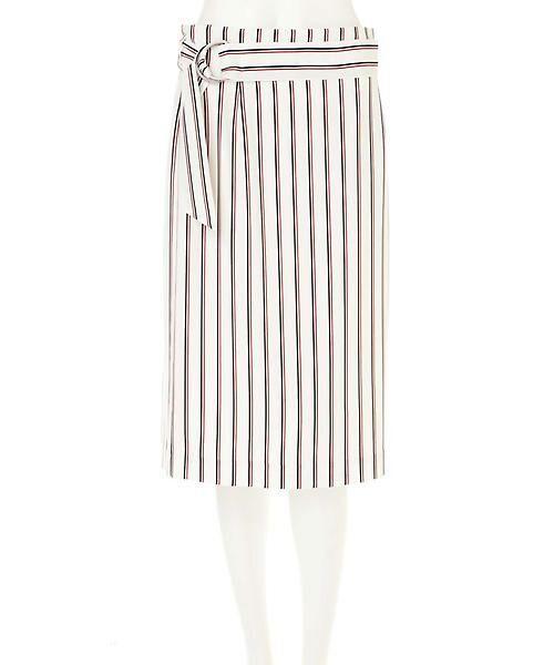 22 OCTOBRE / ヴァンドゥー・オクトーブル スカート | [洗える]マルチストライププリントスカート | 詳細9