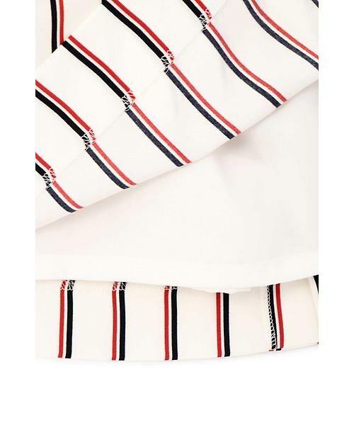 22 OCTOBRE / ヴァンドゥー・オクトーブル スカート | [洗える]マルチストライププリントスカート | 詳細10