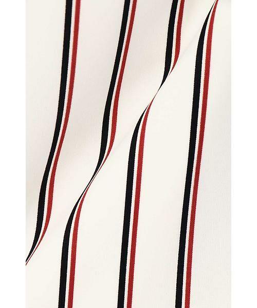 22 OCTOBRE / ヴァンドゥー・オクトーブル スカート | [洗える]マルチストライププリントスカート | 詳細11