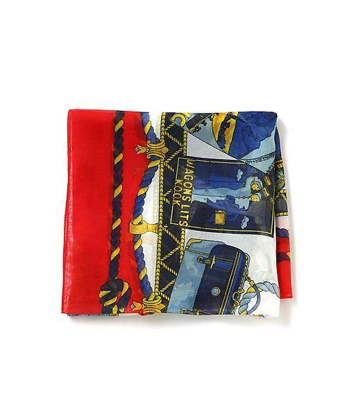 22 OCTOBRE / ヴァンドゥー・オクトーブル 服飾雑貨 | スカーフ(レッド)