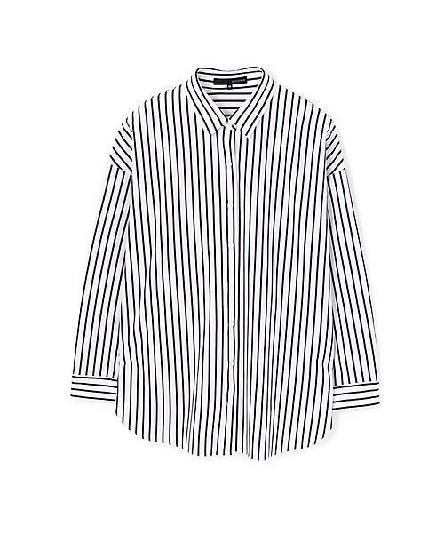 22 OCTOBRE / ヴァンドゥー・オクトーブル シャツ・ブラウス | ◆ストライプジャージーシャツ | 詳細3