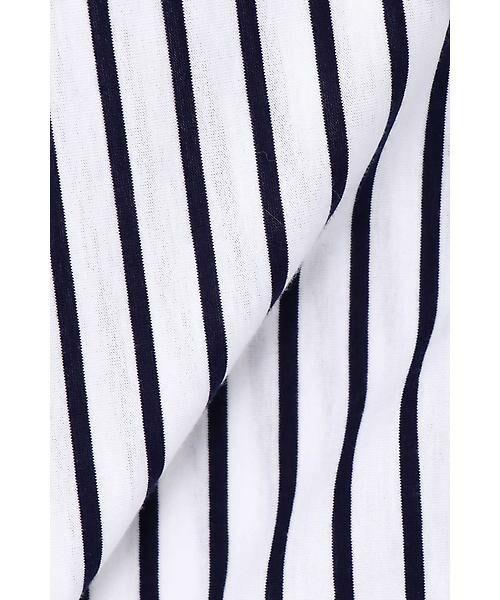 22 OCTOBRE / ヴァンドゥー・オクトーブル シャツ・ブラウス | ◆ストライプジャージーシャツ | 詳細11