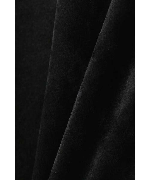 22 OCTOBRE / ヴァンドゥー・オクトーブル シャツ・ブラウス | トリアセベロアブラウス | 詳細10