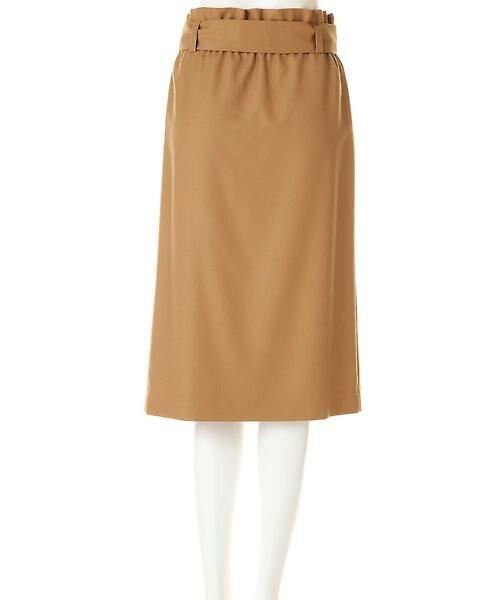22 OCTOBRE / ヴァンドゥー・オクトーブル スカート | ハイウエストラップ風スカート | 詳細2