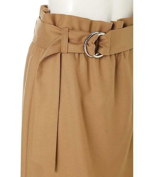 22 OCTOBRE / ヴァンドゥー・オクトーブル スカート | ハイウエストラップ風スカート | 詳細4