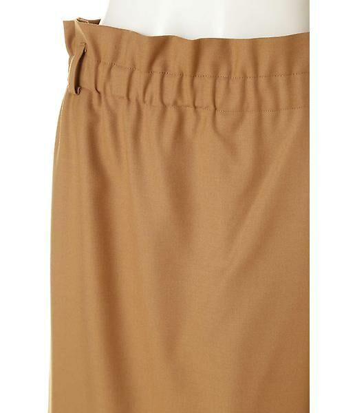 22 OCTOBRE / ヴァンドゥー・オクトーブル スカート | ハイウエストラップ風スカート | 詳細5