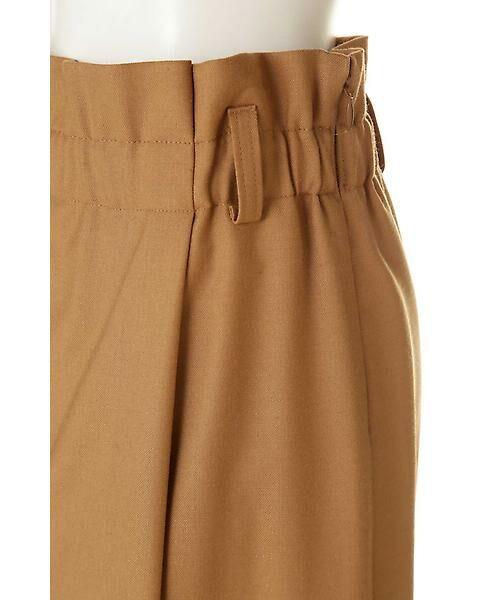 22 OCTOBRE / ヴァンドゥー・オクトーブル スカート | ハイウエストラップ風スカート | 詳細6