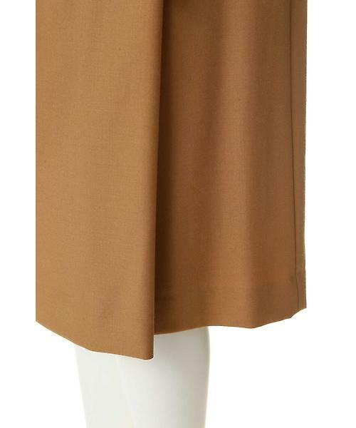 22 OCTOBRE / ヴァンドゥー・オクトーブル スカート | ハイウエストラップ風スカート | 詳細7