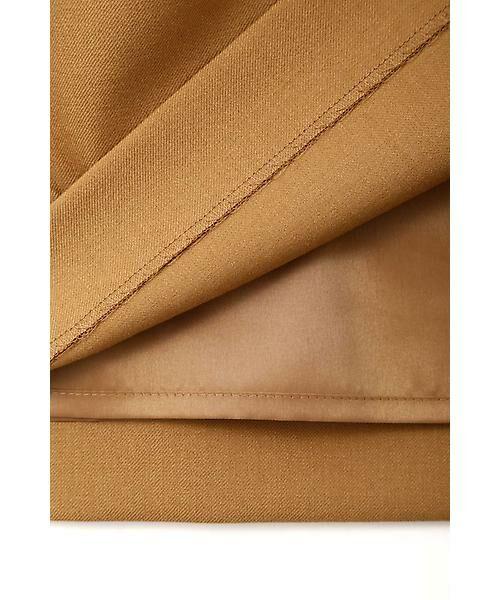22 OCTOBRE / ヴァンドゥー・オクトーブル スカート | ハイウエストラップ風スカート | 詳細8