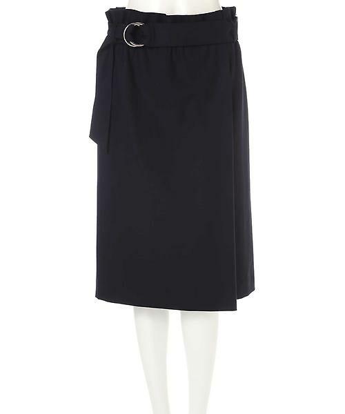 22 OCTOBRE / ヴァンドゥー・オクトーブル スカート | ハイウエストラップ風スカート | 詳細10