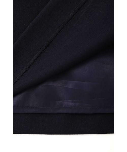 22 OCTOBRE / ヴァンドゥー・オクトーブル スカート | ハイウエストラップ風スカート | 詳細11