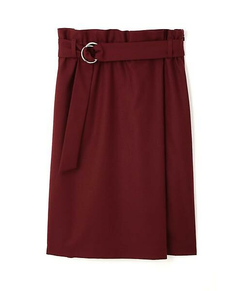 22 OCTOBRE / ヴァンドゥー・オクトーブル スカート | ハイウエストラップ風スカート | 詳細17