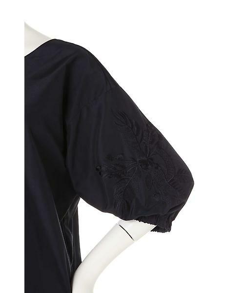22 OCTOBRE / ヴァンドゥー・オクトーブル シャツ・ブラウス | 刺繍スリーブブラウス | 詳細7
