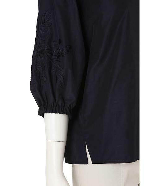 22 OCTOBRE / ヴァンドゥー・オクトーブル シャツ・ブラウス | 刺繍スリーブブラウス | 詳細8