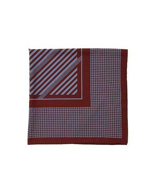 22 OCTOBRE / ヴァンドゥー・オクトーブル 服飾雑貨 | 千鳥スカーフ(ブルー)