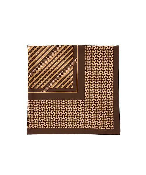 22 OCTOBRE / ヴァンドゥー・オクトーブル 服飾雑貨 | 千鳥スカーフ(イエロー)