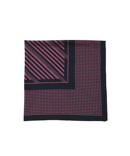22 OCTOBRE / ヴァンドゥー・オクトーブル 服飾雑貨 | 千鳥スカーフ(パープル)