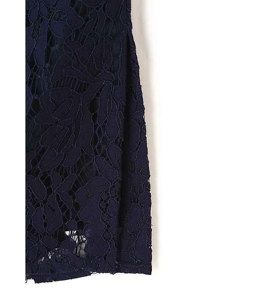 22 OCTOBRE / ヴァンドゥー・オクトーブル スカート   レースタイトスカート   詳細9