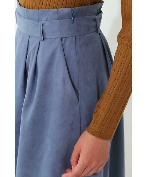 22 OCTOBRE / ヴァンドゥー・オクトーブル スカート | スエードフレアスカート | 詳細6