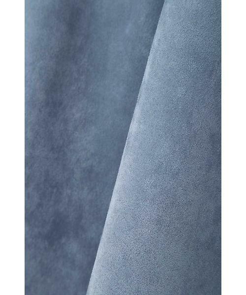 22 OCTOBRE / ヴァンドゥー・オクトーブル スカート | スエードフレアスカート | 詳細8