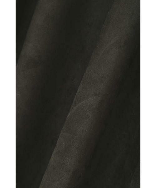 22 OCTOBRE / ヴァンドゥー・オクトーブル スカート | スエードフレアスカート | 詳細15