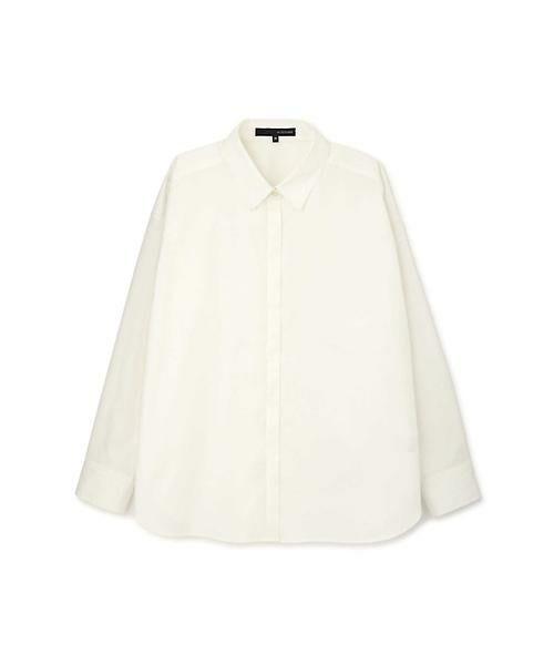 22 OCTOBRE / ヴァンドゥー・オクトーブル シャツ・ブラウス | ストライプシャツ(ホワイト)