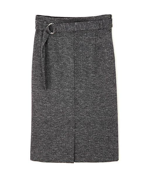 22 OCTOBRE / ヴァンドゥー・オクトーブル スカート | コットンウールジャージースカート | 詳細1