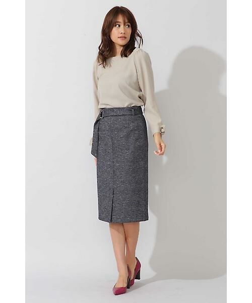 22 OCTOBRE / ヴァンドゥー・オクトーブル スカート | コットンウールジャージースカート | 詳細2