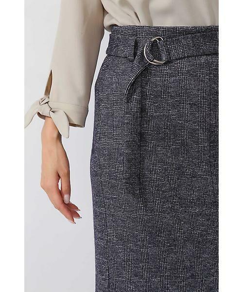 22 OCTOBRE / ヴァンドゥー・オクトーブル スカート | コットンウールジャージースカート | 詳細5