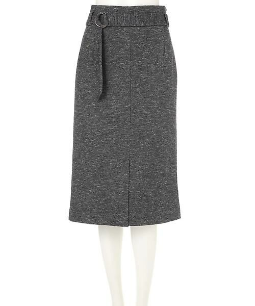 22 OCTOBRE / ヴァンドゥー・オクトーブル スカート | コットンウールジャージースカート | 詳細12
