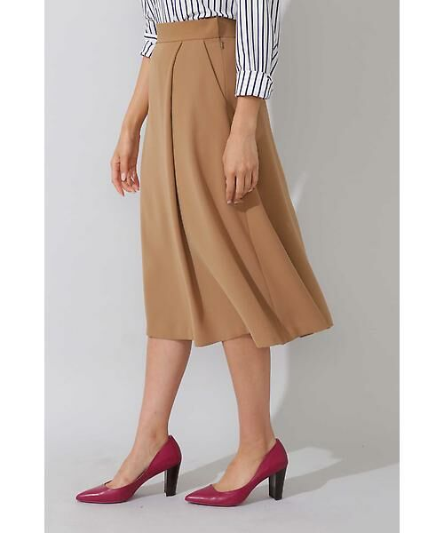 22 OCTOBRE / ヴァンドゥー・オクトーブル スカート | 平二重フレアスカート | 詳細5