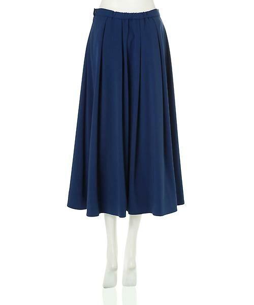22 OCTOBRE / ヴァンドゥー・オクトーブル スカート | T/Rカラースカート | 詳細2