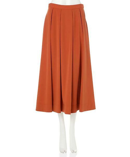 22 OCTOBRE / ヴァンドゥー・オクトーブル スカート | T/Rカラースカート | 詳細12