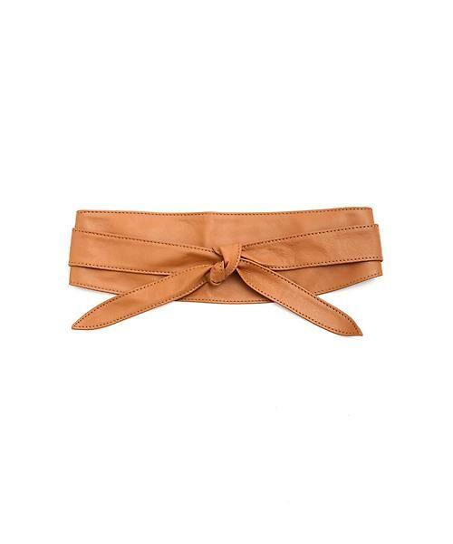22 OCTOBRE / ヴァンドゥー・オクトーブル 服飾雑貨 | サッシュベルト(キャメル5)