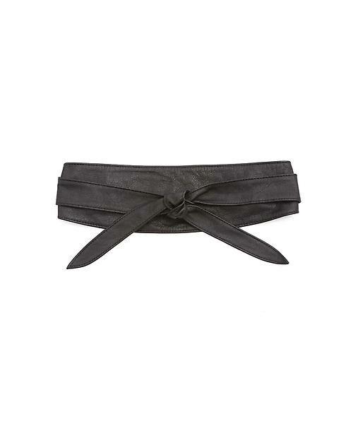 22 OCTOBRE / ヴァンドゥー・オクトーブル 服飾雑貨 | サッシュベルト(ブラック)