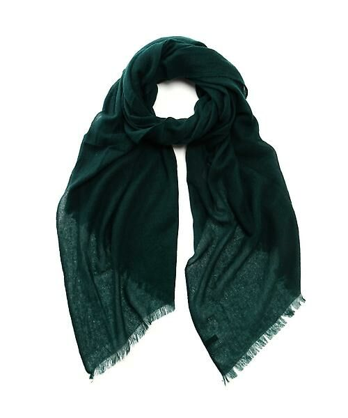22 OCTOBRE / ヴァンドゥー・オクトーブル 服飾雑貨 | カシミヤストール(グリーン)