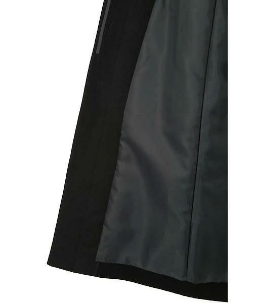 22 OCTOBRE / ヴァンドゥー・オクトーブル アウター | ◆カシミヤ混ファー付ウールコート | 詳細11