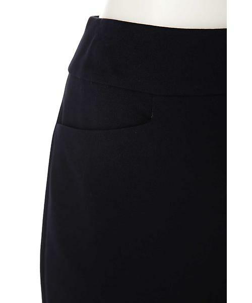 22 OCTOBRE / ヴァンドゥー・オクトーブル スカート | ハイゲージモクロディスカート | 詳細5