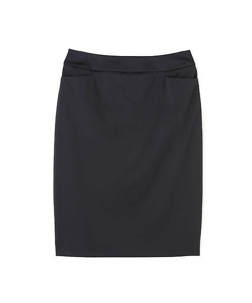 22 OCTOBRE / ヴァンドゥー・オクトーブル スカート | ハイゲージモクロディスカート(ブラック)