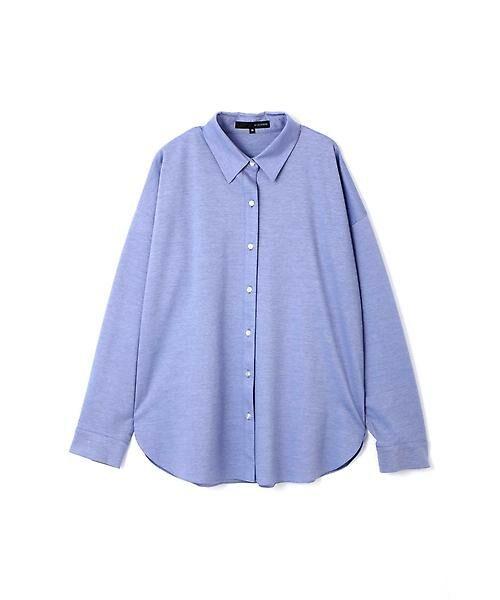 22 OCTOBRE / ヴァンドゥー・オクトーブル シャツ・ブラウス | ジャージーシャツ(ブルー)