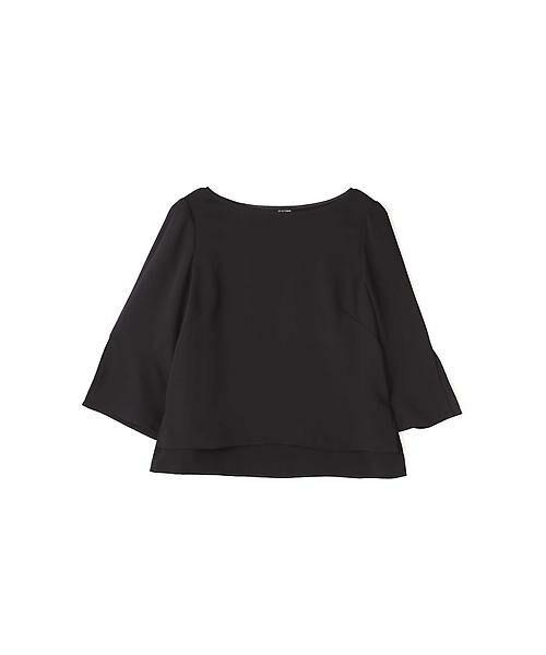 22 OCTOBRE / ヴァンドゥー・オクトーブル シャツ・ブラウス | フォールセットアップブラウス(ブラック)
