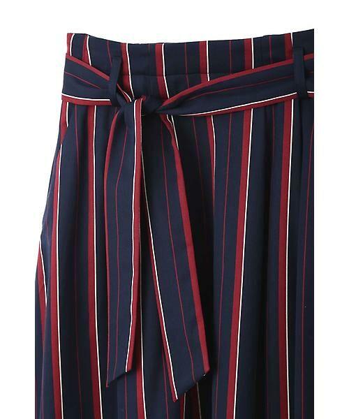 22 OCTOBRE / ヴァンドゥー・オクトーブル スカート | [WEB限定商品]マルチストライプフィッシュテールスカート | 詳細1