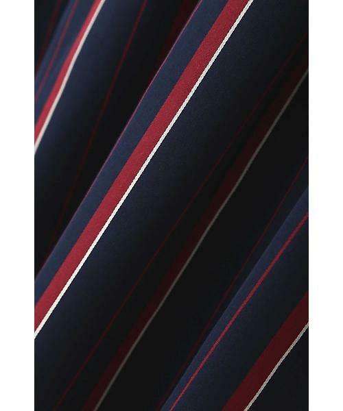 22 OCTOBRE / ヴァンドゥー・オクトーブル スカート | [WEB限定商品]マルチストライプフィッシュテールスカート | 詳細10