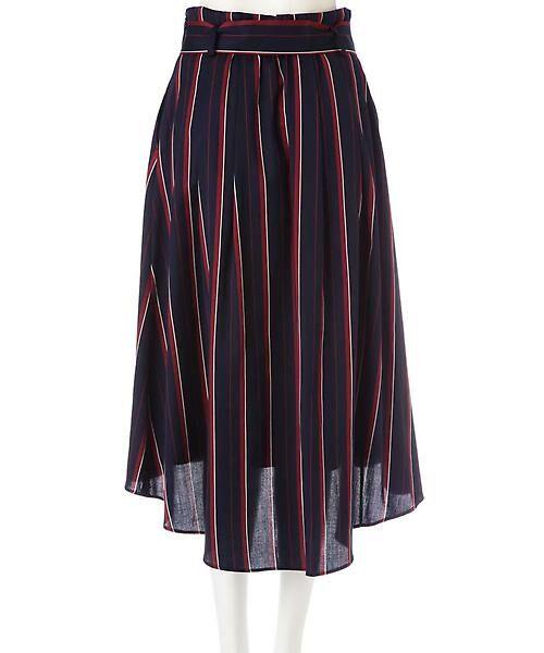 22 OCTOBRE / ヴァンドゥー・オクトーブル スカート | [WEB限定商品]マルチストライプフィッシュテールスカート | 詳細3