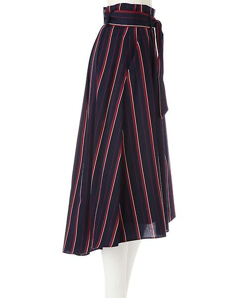 22 OCTOBRE / ヴァンドゥー・オクトーブル スカート | [WEB限定商品]マルチストライプフィッシュテールスカート | 詳細4